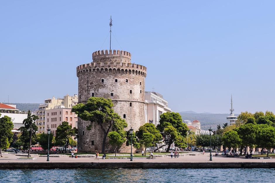 מפת יוון גבעת האקרופוליס, אתונה המגדל הלבן – אטרקציה נוספת בסלוניקי