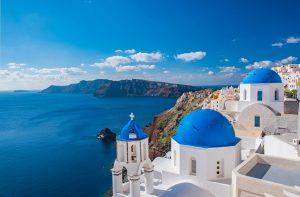 נוף יווני לים